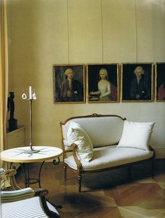 Frédéric Méchiche's Paris apartment in the January 1994 issue of World of Interiors photographed by René Stoeltie.