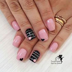 45 Pretty Nails For Valentines That You Will Absolutely Love 30 - Hair and Beauty eye makeup Ideas To Try - Nail Art Design Ideas day nails acrylic short Nägel Gel Rosa Heart Nail Designs, Valentine's Day Nail Designs, Acrylic Nail Designs, Acrylic Nails, Nails Design, Coffin Nails, Stiletto Nails, Nail Designs For Summer, Cute Easy Nail Designs