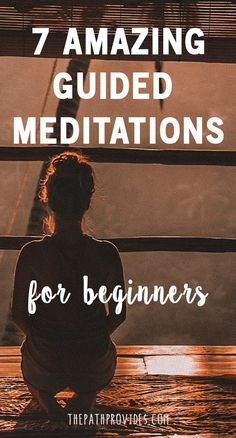 Have you ever wanted to start a meditation practice but didn't know where or how to start? Starting meditating can be quite overwhelming. To help you kick-start your meditation practice, give these 7 amazing guided meditations for beginners a try! | Medit . Take a look at Check out amazing mindful products at www.estus.co
