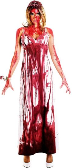 Maybe I should go as Carrie for Halloween, haha!