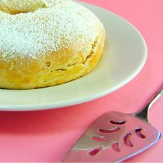 One Perfect Bite: Ciambellone - Italian Easter Bread - Pink Saturday