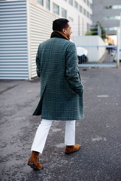 On the Street…..Crisp Winter White, Paris - The Sartorialist
