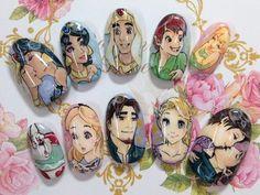Disney : Character nail art
