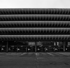 Ove Arup and Partners' Preston Bus Station, 1969.
