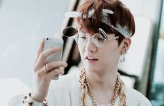 #BTS #Suga *trying to ignore the glasses*