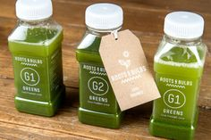 Roots and Bulb's Juices #brand #design