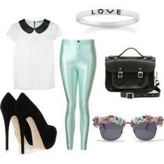 . Disco Pants, Polyvore, Fashion, Moda, Fashion Styles, Fashion Illustrations
