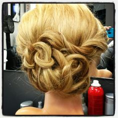 Elegantly laced updo by ImyeDesigns xo