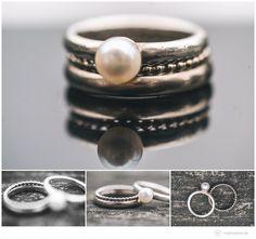 Ringshots - Ehering - Verlobungsring - Perle. Blogeintrag: hochzeit-diy-vintage-ratzeburg-waldhof-moelln-matthias-friel