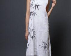 Maxi 'Lovely Lucy' Boho Dress Long Sleeve Boho Dress Plus by onor