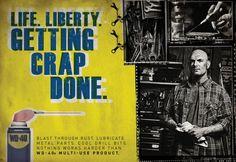 homadge - ads I like!: WD40 print ads (O'Leary and Partners, Newport Beach)