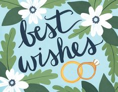 Best Wishes card by One Canoe Two on Postable.com