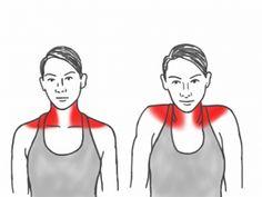 Neck Mobility - Shoulder Shrugs affecting the Trapezius Neck And Shoulder Exercises, Posture Exercises, Neck And Shoulder Pain, Neck Stretches, Shoulder Workout, Shoulder Tension, Posture Fix, Better Posture, Postural