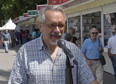 1/06/15 EL MICRO DE LA FERIA: Constantino Bértolo, editor. Foto © Jorge Aparicio/ FLM15