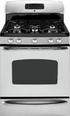 GE General Electric JGB800SEPSS Freestanding Gas Range with 5 Sealed Burners, 30