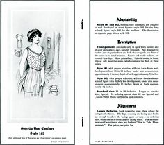 Spirella brassiere from http://commons.wikimedia.org/wiki/File:SpirellaAccessories1913page18_19.png