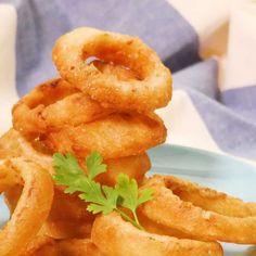 みんな大好き!定番! オニオンリング Home Recipes, Asian Recipes, Ethnic Recipes, Onion Rings, Food Photography, Keto, Onions, Cooking, Easy