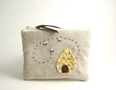 linen pouch.