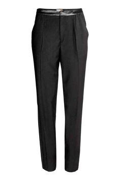 Pantaloni da tailleur - Nero - DONNA   H&M IT