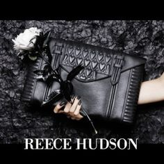Our ad on Purple.fr   #reecehudson #fashion #style #fw13 #bowery #clutch #purplemag #handbags #nyc #madeinitaly #rgbcosmetics #press
