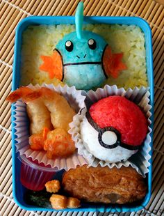 Pokemon and sushi what more could you ask for?