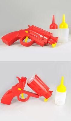 Condiment Gun for Mustard & Ketchup