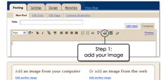 Uploading Larger Pictures in Blogger - Somewhat Simple