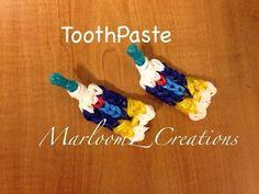 Rainbow Loom Toothpaste - http://rainbowloomsale.com/rainbow-loom-toothpaste/