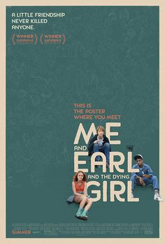 Design by BLT. Me and Earl and the Dying Girl. Client: Fox Searchlight Pictures (20th Century Fox)