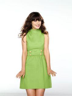 Cute dress. Zooey Deschanel Inspiration.