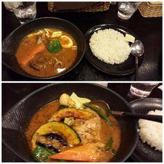 Soup Curry Lavi Lavi at Sapporo Station (10th floor Esta)