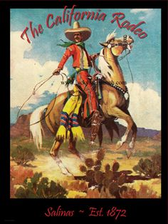 Hey, I found this really awesome Etsy listing at https://www.etsy.com/listing/124282053/18x24-salinas-ca-rodeo-poster