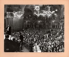 Tauber, Richard - Large Signed Photo in Concert in Belgium, 1935