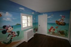 A day at the Beach, another view - Mural Idea in Dobbs Ferry NY