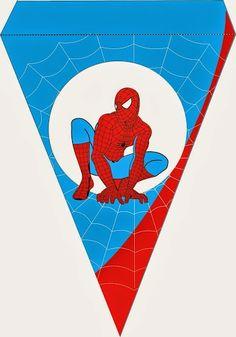 Spiderman: Free Printable Kit.