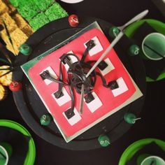 TNT minecraft cake I made for Ollies party Tnt Minecraft, Parties, Birthday, Recipes, Kids, Crafts, Fiestas, Young Children, Birthdays