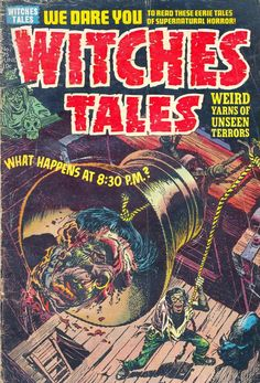 Comic Book Cover For Witches Tales v1 #25