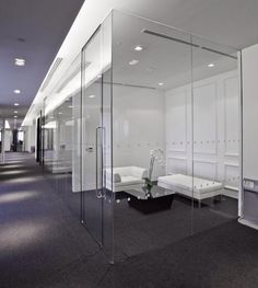 Net-A-Porter Offices In London - great clean lines (but maybe too stark for us?)