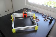 DIY 3D printed Laser Engraver #instructables