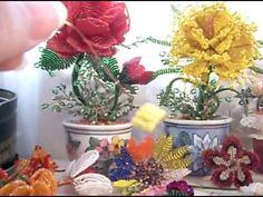 DIY  Tutorial de introducción a las figuras y flores de chaquira
