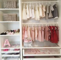 Baby Closets, Baby Storage, Closet System, Rainbow Baby, Baby Baby,  Nurseries, Baby Room, Nursery Decor, Children S