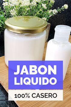Aprende cómo transformar cualquier barra de jabón en un increíble y rendidor jabón líquido, 100�0casero y un proceso muy sencillo de realizar.