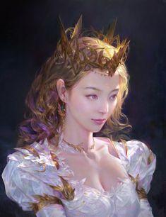 SixSix Queen, Amazon A on ArtStation at https://www.artstation.com/artwork/6ENq6