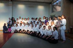 Segundo encuentro Femenino de Aikido julio 2017, 4 profesoras y 55 asistentes nos reunimos durante una mañana para entrenar y finalizar con un conversatorio donde compartimos experiencias de como sostener la práctica #lorenafreire #organizadora #encuentrofemeninodeaikidochile