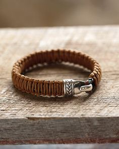 Oh I like this Hook Braid Bracelet