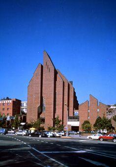 Pulkwangdong Catholic Church 1981 Seoul, Korea // by Kim, Swoo Geun