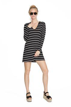 Chelsea Stripe Amity Dress. Clayton 2016 Resort Collection.