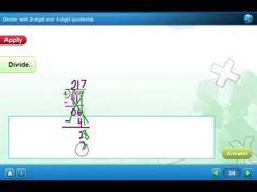 HW#017 Lesson 3-3   2 & 4 Digit Quotients