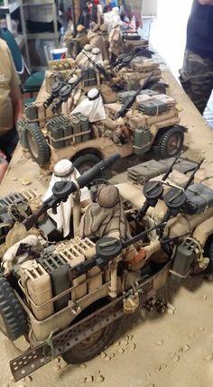 Scale Model Ships, Scale Models, Gi Joe, Military Action Figures, Afrika Korps, Model Tanks, Military Insignia, Jeep Models, Military Modelling
