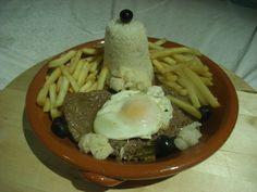 Receita de Bitoque à portuguesa .:. Kitchenet .:. Livro de culinária do aeiou
